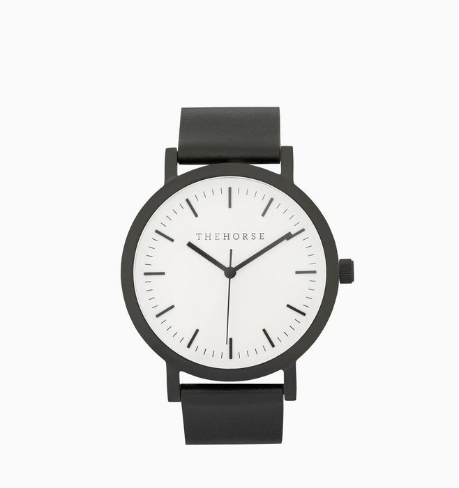 The Horse Original Watch - Black / White