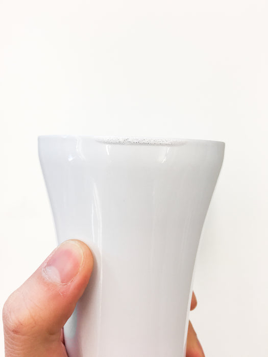 Sttoke Reusable Ceramic Cup 8oz - Angel White