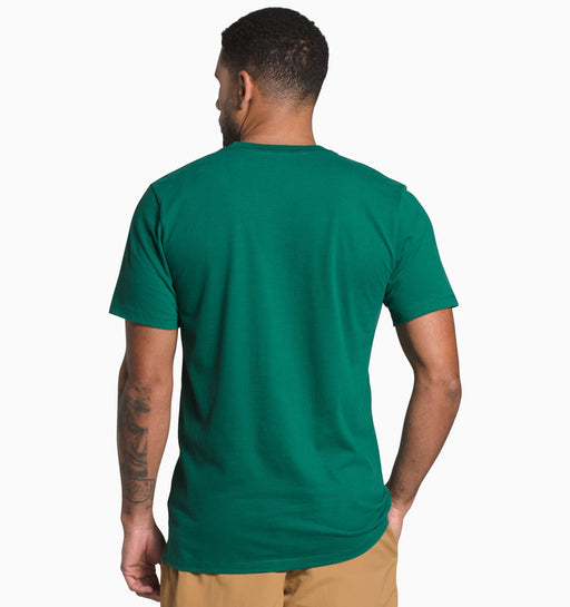 The North Face Men's Short Sleeve Half Dome Tee / S - Evergreen