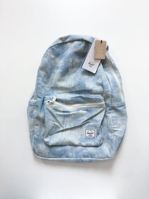 Herschel Cotton Canvas Packable Backpack - Bleach Denim