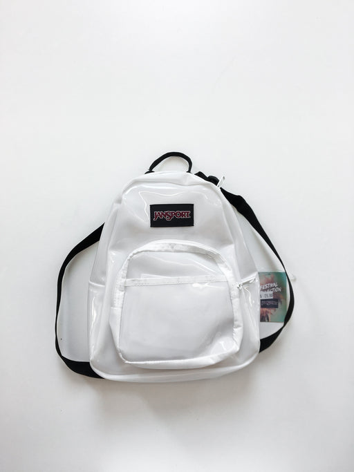 Jansport Half Pint FX Mini Backpack - Translucent White