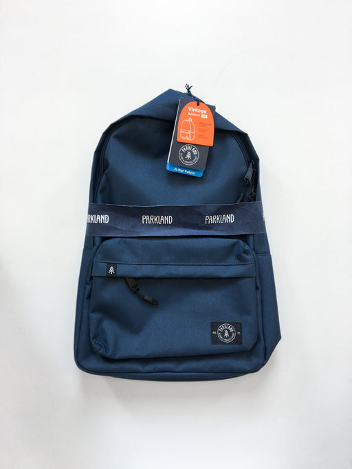 "Parkland Vintage 13"" Laptop Backpack - Navy"