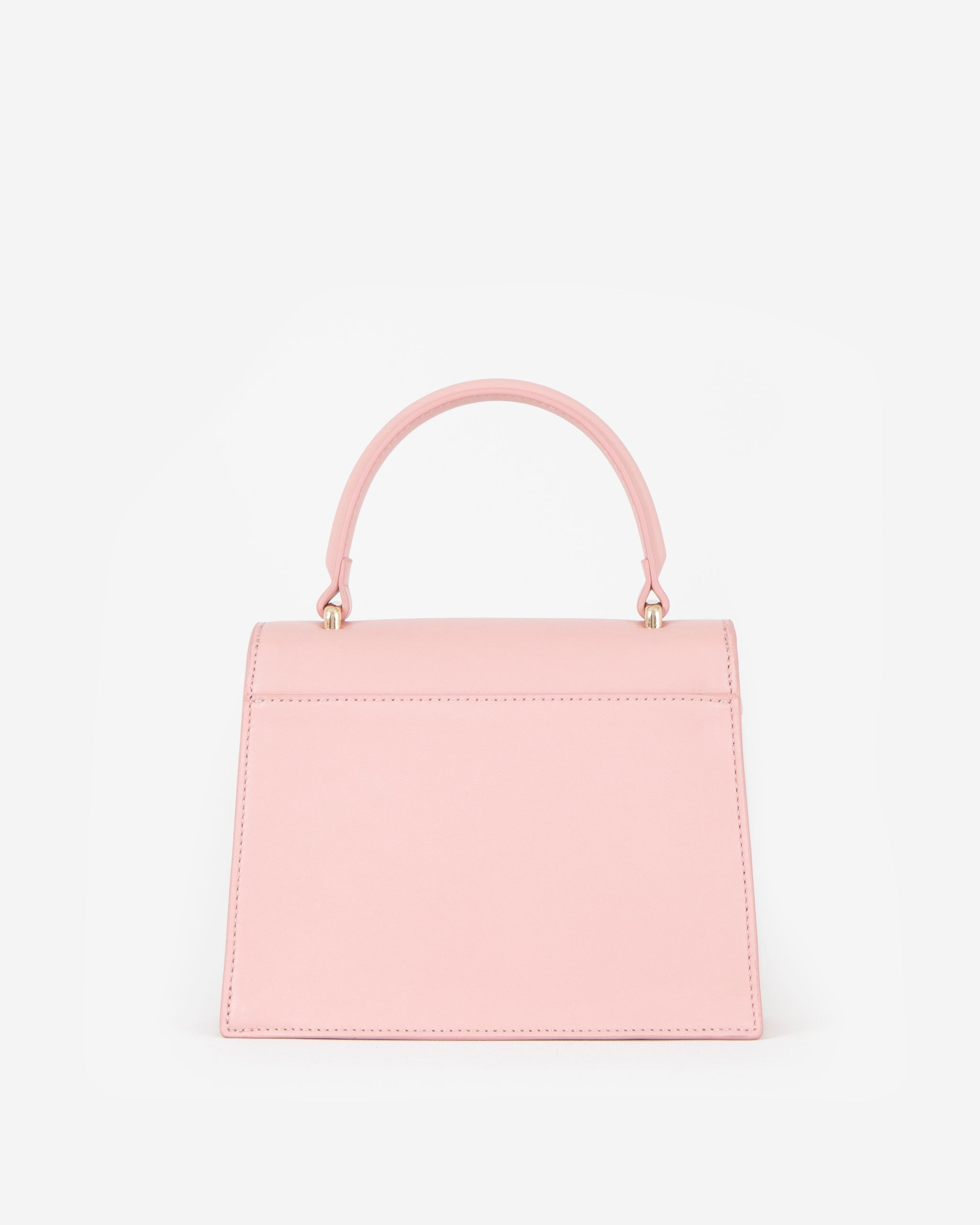 Pre-order (Late July): Evening Bag in Pink with Personalised Hardware
