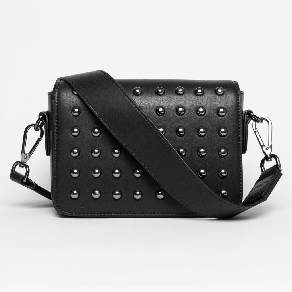 Pre-order (Late January): Studded Black Crossbody Bag