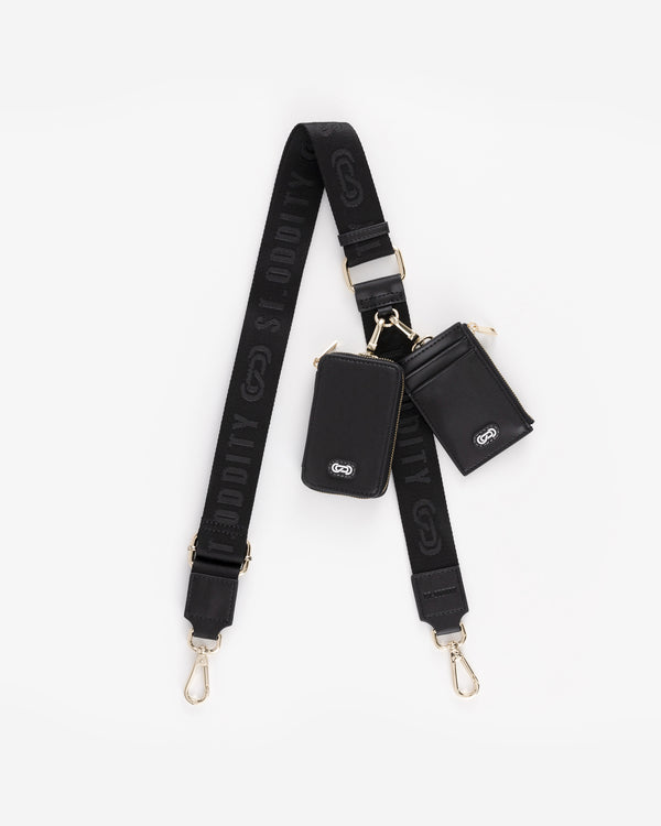 Utility Street Strap in Black/Gold