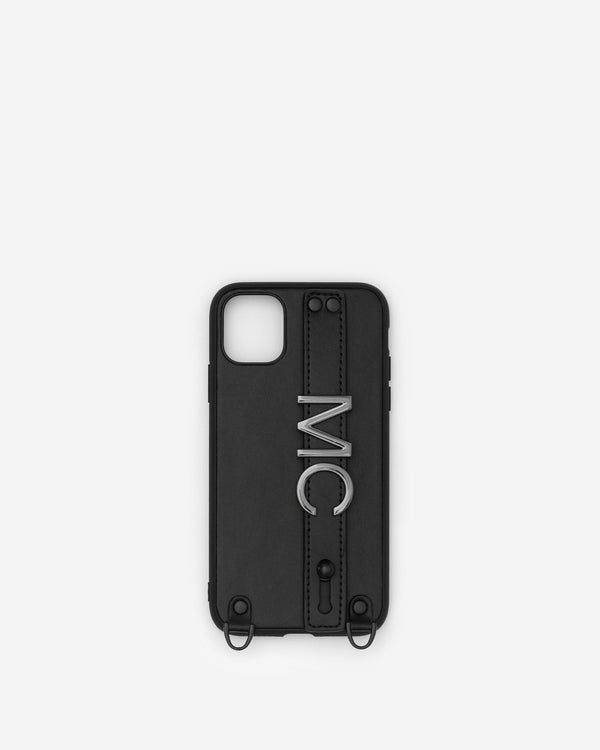 iPhone 11 Case in Black/Gunmetal with Personalised Hardware
