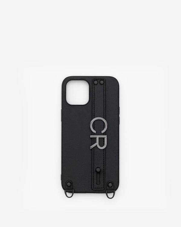 iPhone 12 Pro Max Case in Black/Gunmetal with Personalised Hardware