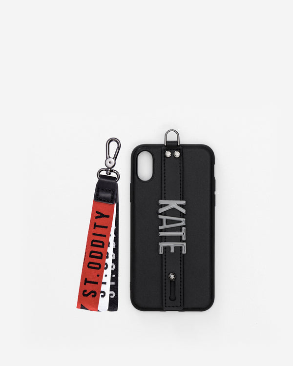 iPhone X / XS Case in Black with Personalised Hardware