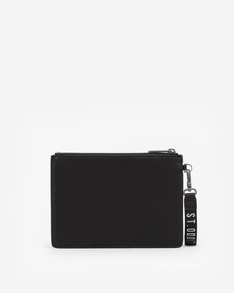Pre-order (Mid-November): Pouch in Black with Personalised Hardware