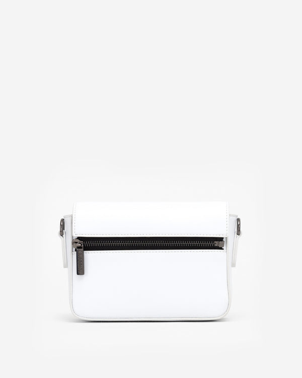 Classic White Crossbody Bag