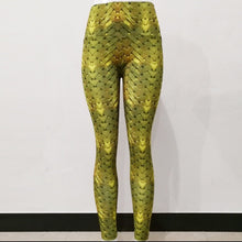 Load image into Gallery viewer, Barisimo Gold Yoga Pants