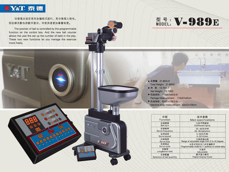 Y&T V-989E table tennis Robot