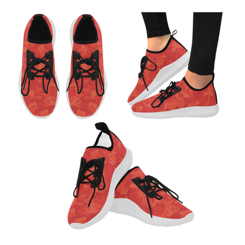 Solar red Dibs camo Women shoes