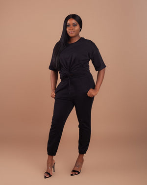Oversized Lightweight Set-Black