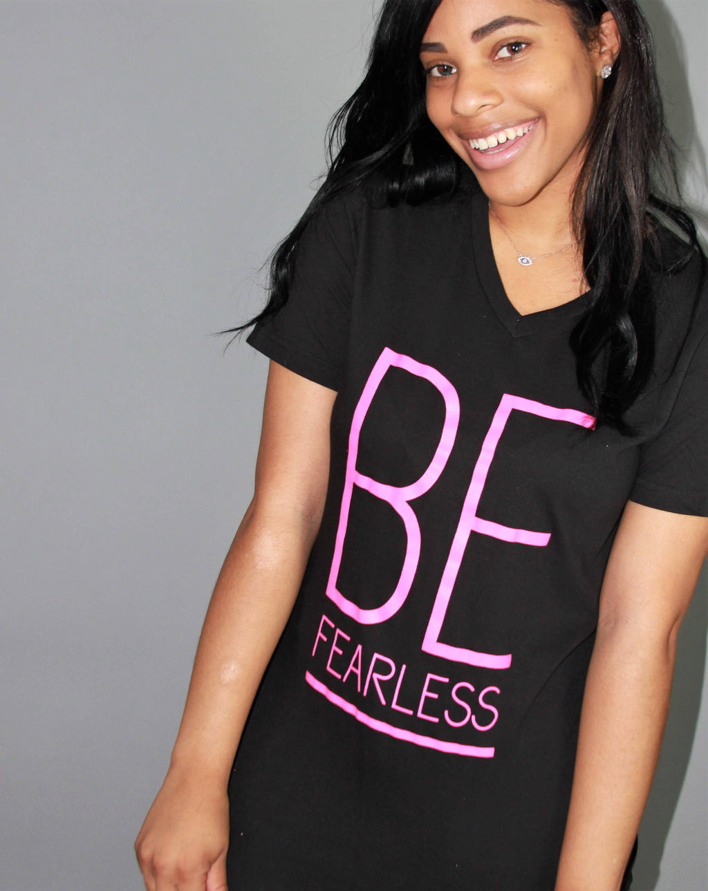 "EMBODY- ""BE FEARLESS"" WOMENS T-SHIRT"