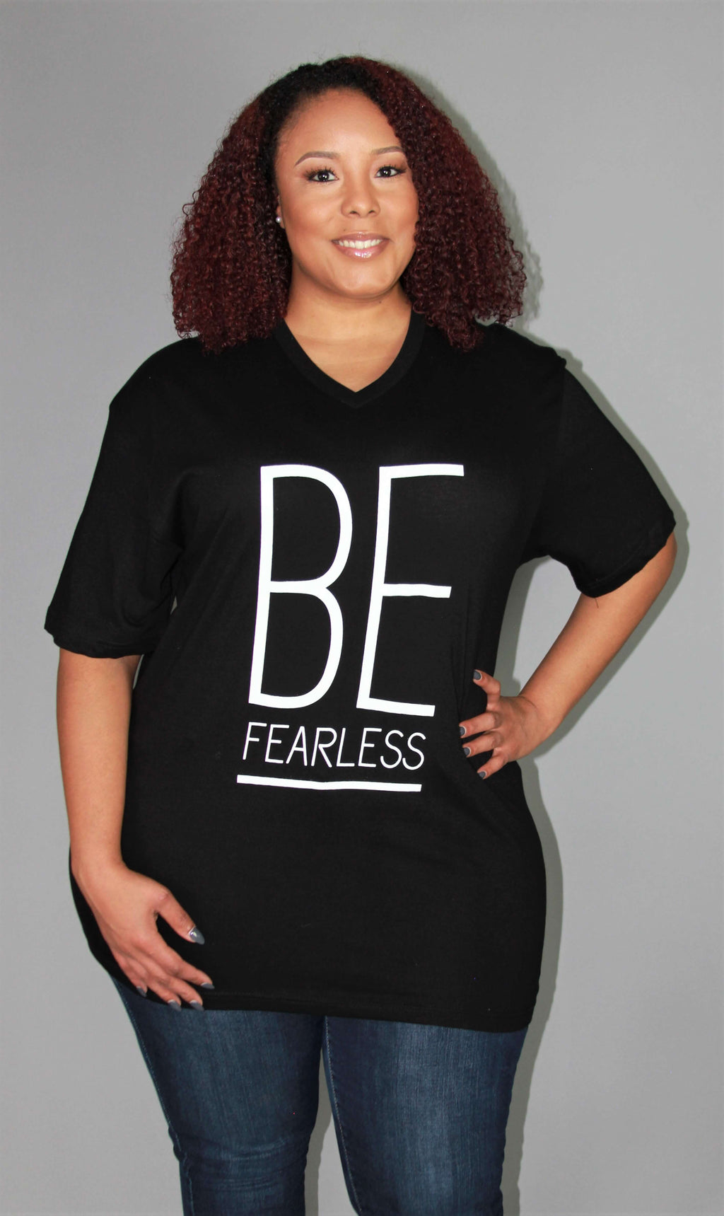 "EMBODY ""BE FEARLESS"" WOMENS T-SHIRT"