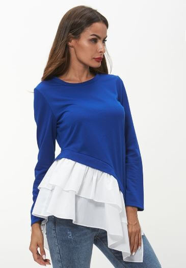 ROYAL RUFFLE TOP