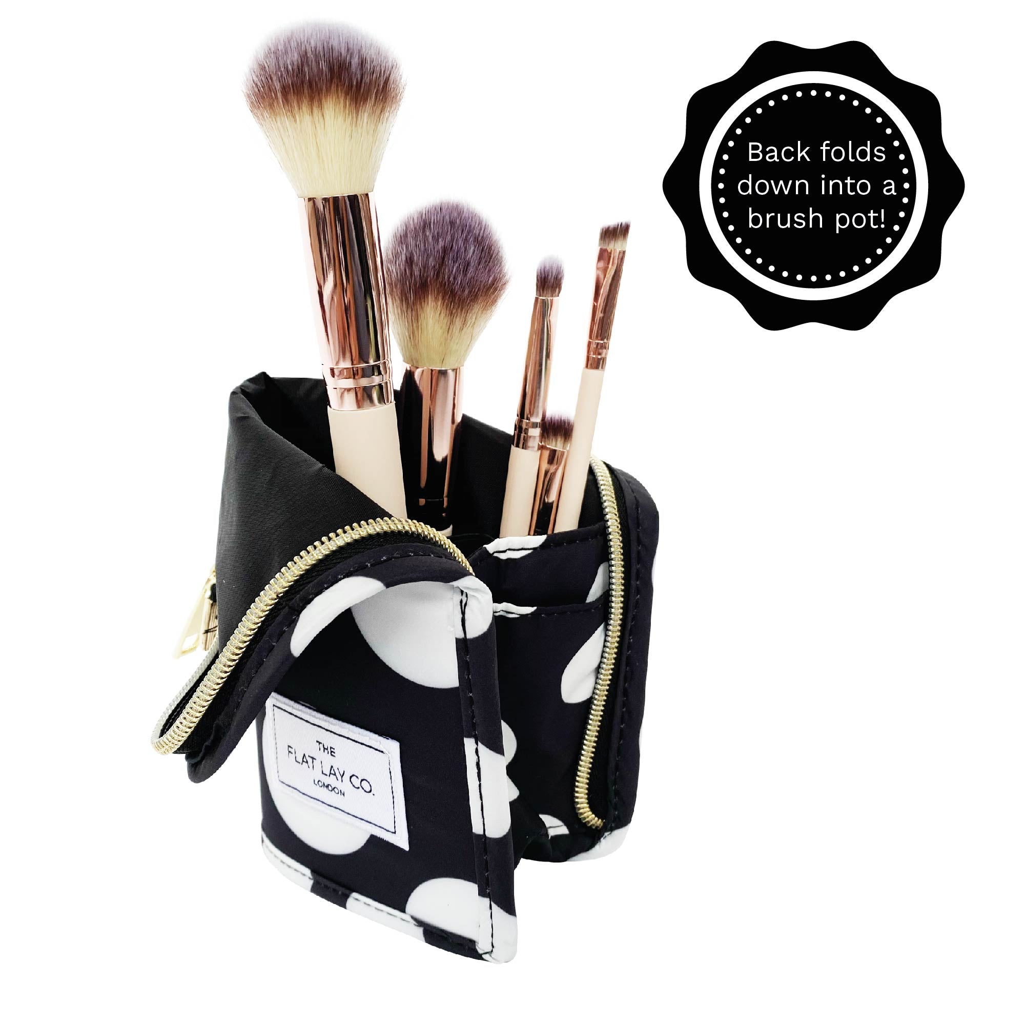Double Spots Standing Brush Case