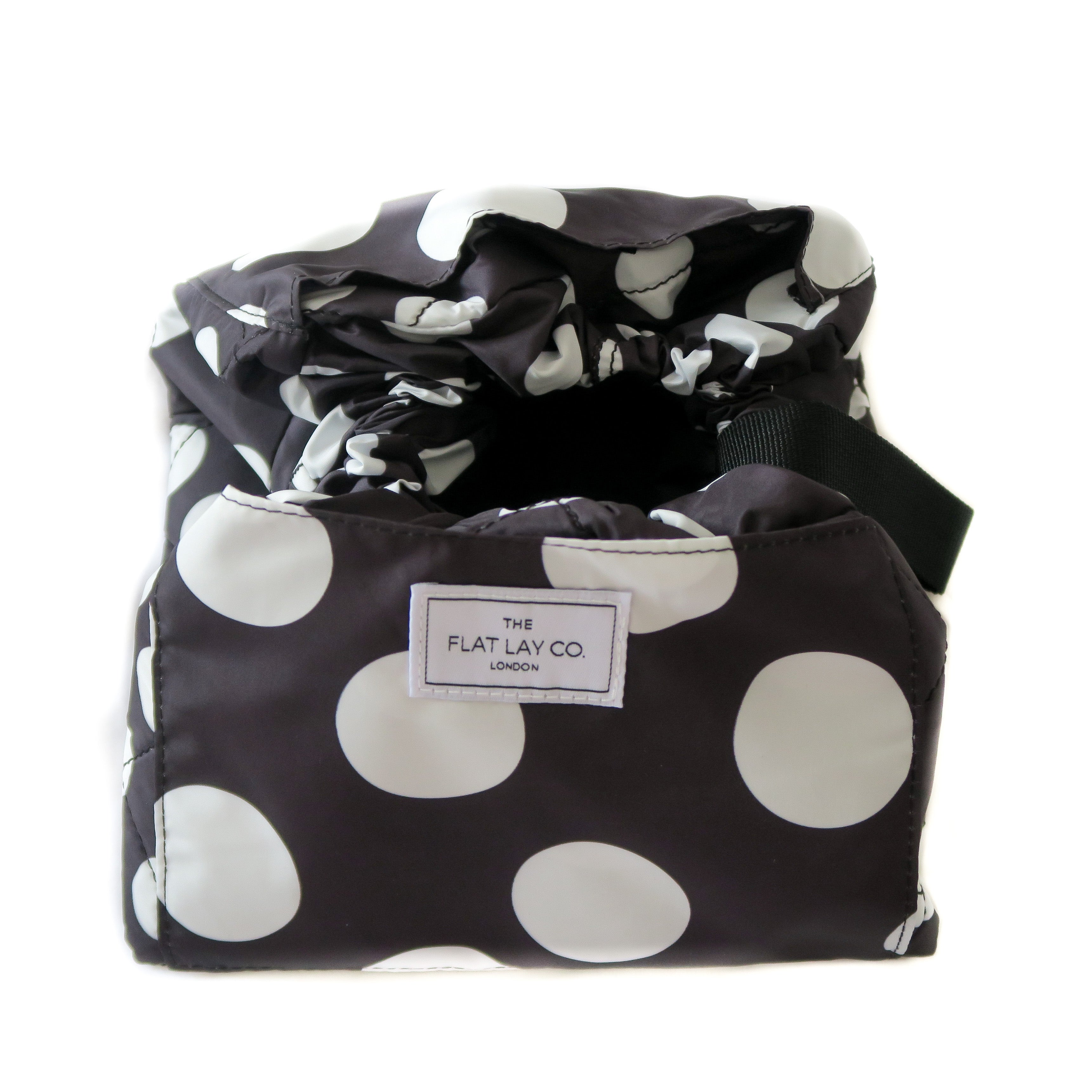 Double Spots Open Flat Makeup Bag 50cm