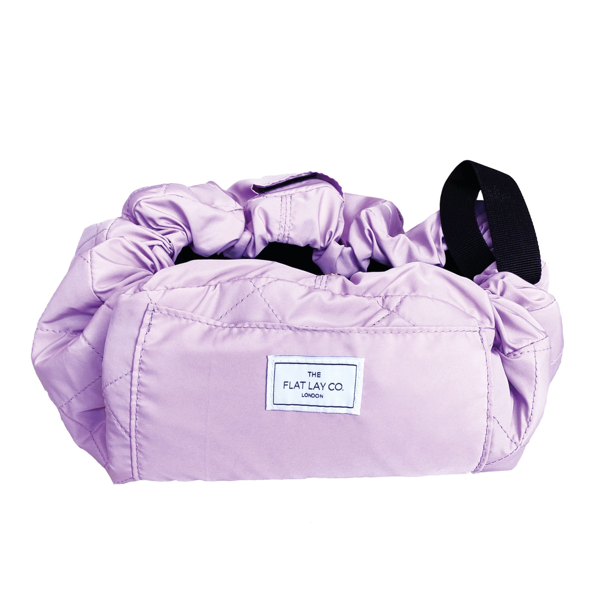Lilac Full Size Open Flat Makeup Bag 50cm