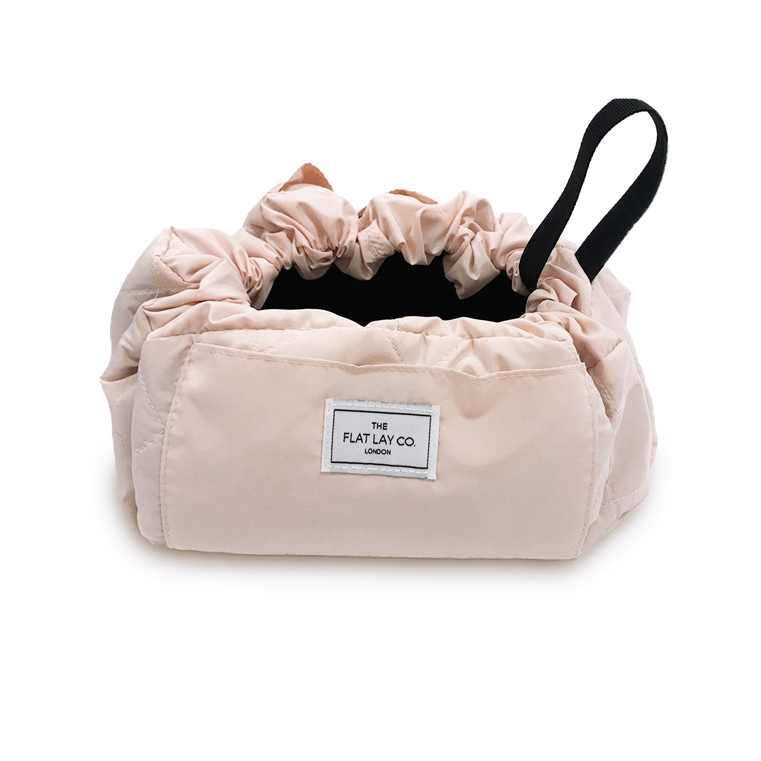 Blush Pink Open Flat Makeup Bag 50cm