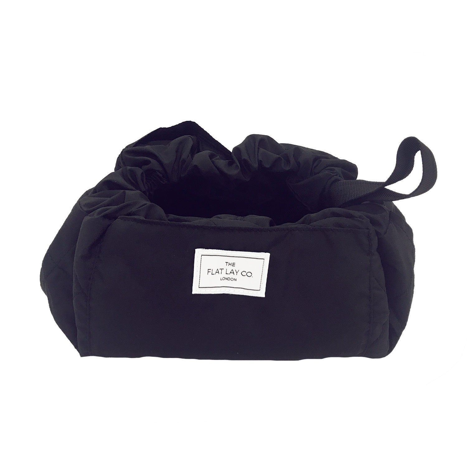 Classic Black Open Flat Makeup Bag 50cm EUR