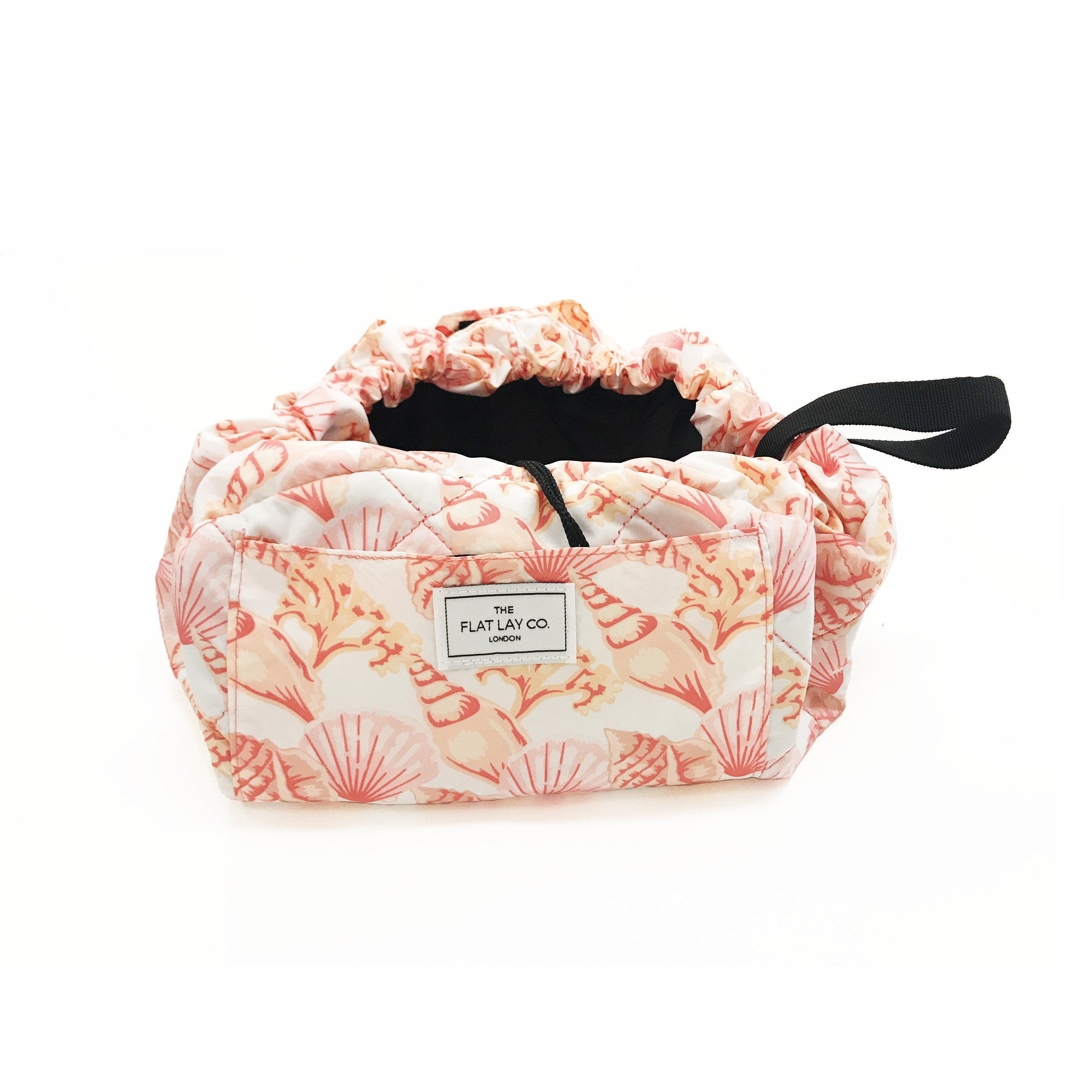 Pink Shells Open Flat Makeup Bag 50cm 🇺🇸