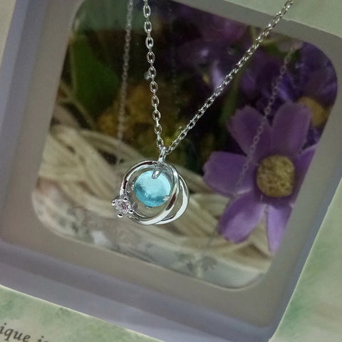 Aurora necklace sterling silver 2020