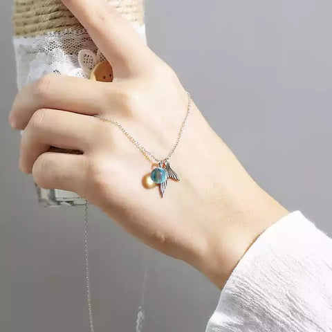 mermaid necklace 2019 creative cute jewelry for women