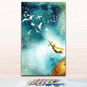 Little Prince 2 - Easy Step 1,2,3 Number Painting Kit