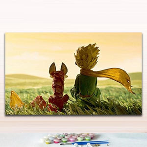 Little Prince - Easy Step 1,2,3 Number Painting Kit