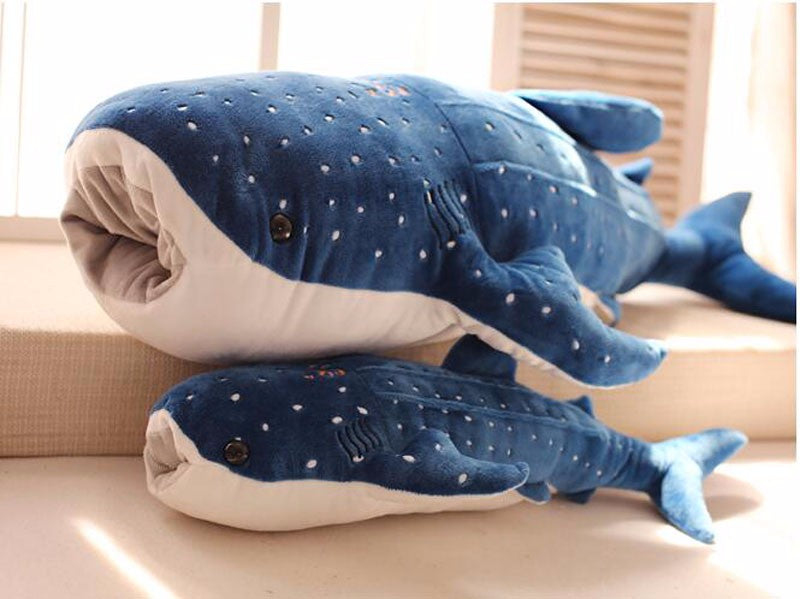 Giant Whale Shark Plush Doll for Kids