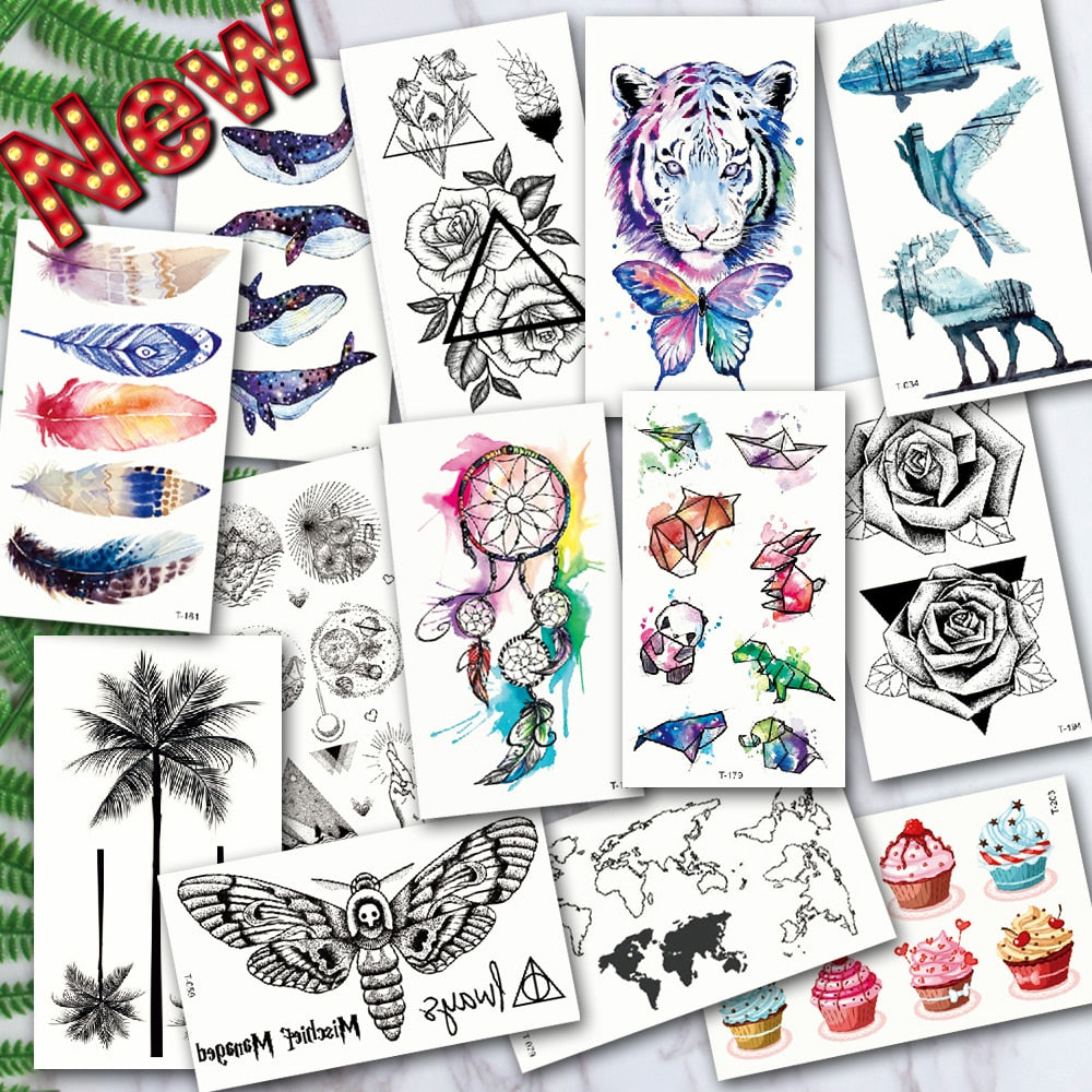 Dream Catcher Collection - Temporary Tattoos