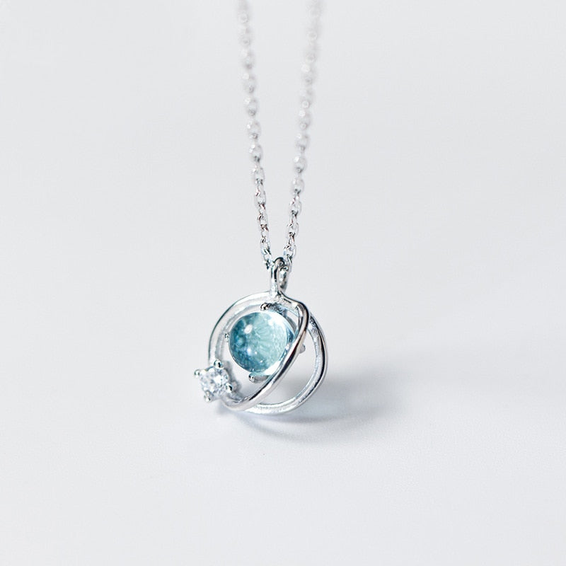 Aurora 925 Sterling Silver Necklace