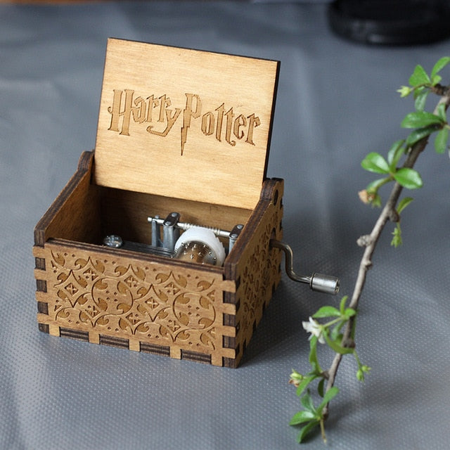 Harry Potter Themed - Hand Crafted Music Box