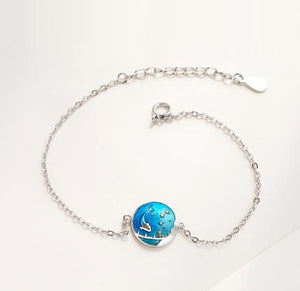 Sea of Stars Bracelet - Handmade Sterling Silver
