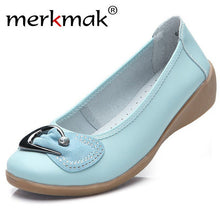 New Women Leather Shoes Moccasins Casual Loafers Soft Comfort Flats Female Driving Footwear Large Size 35-40 Candy Color