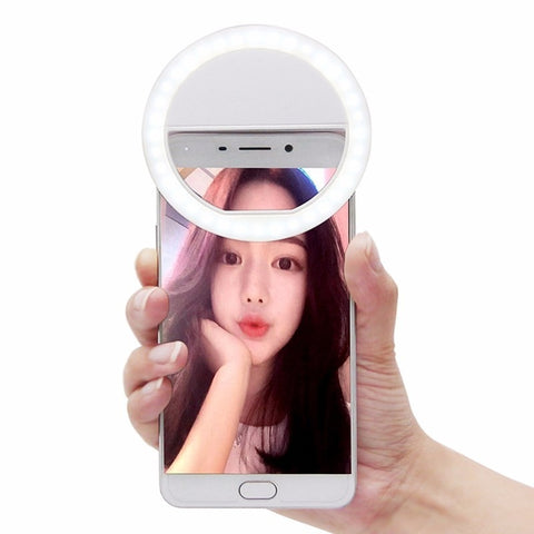 Beauty Selfie Led Light Camera Phone Photography Selfie Light