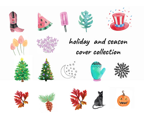 Christmas Icon For Instagram Highlights.100 Watercolor Instagram Cover Icon Mega Pack
