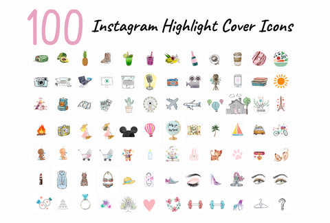 1000+ Instagram Highlight Covers Icon Collections   Lifetime