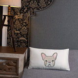 french bulldog frenchie pillow throw funny cute lover