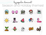 Holiday and Season Icons for Instagram Highlight Covers