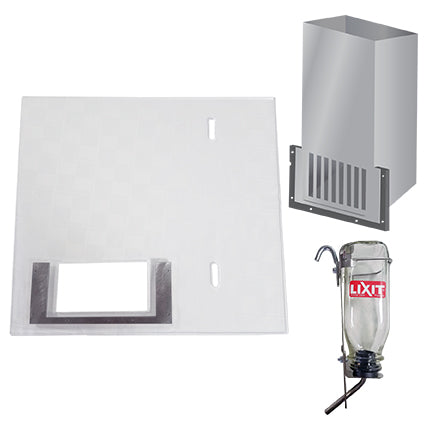 "9000-K24-FW: 22"" Group Housing Food & Water Panel Kit"
