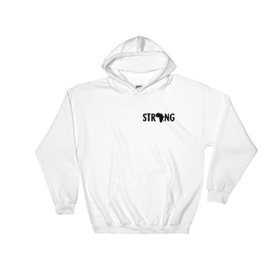 "Sweatshirt capuche ""Strong Africa"" - Rootz shop"