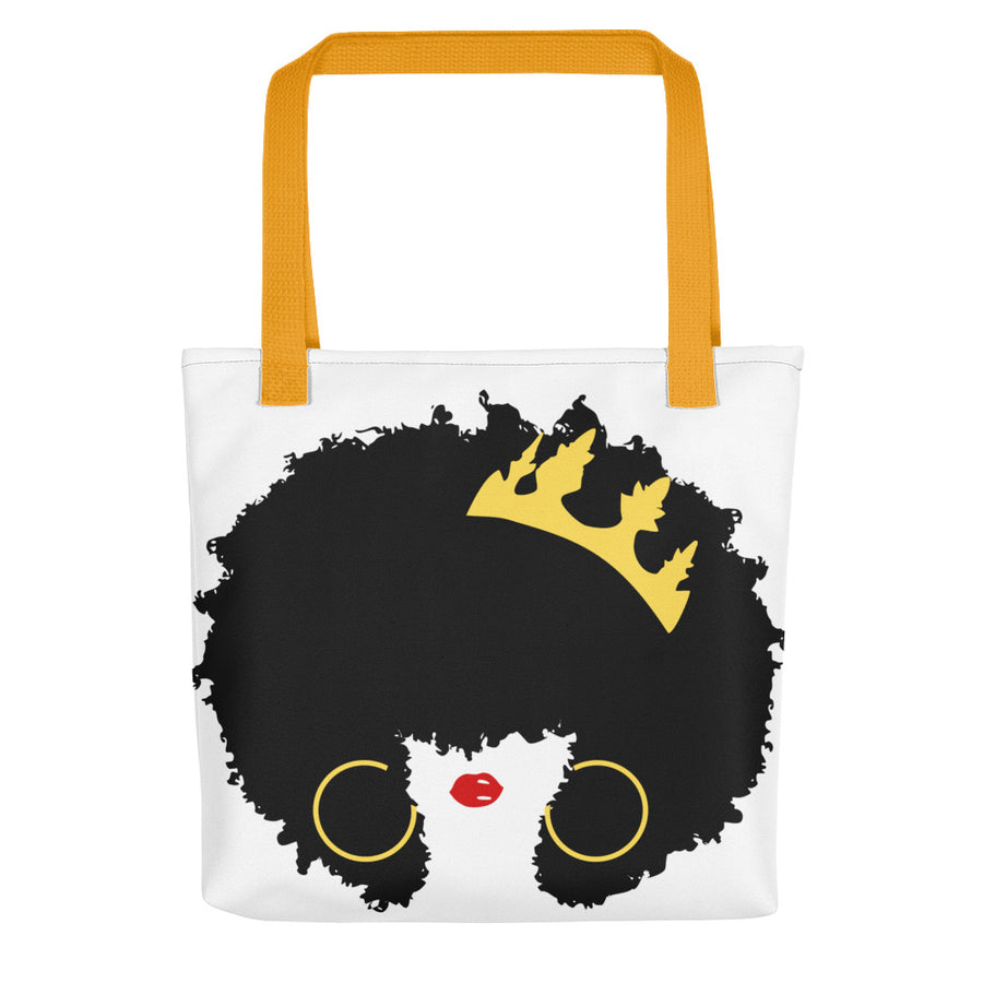 "Tote bag ""Queen Afro"""