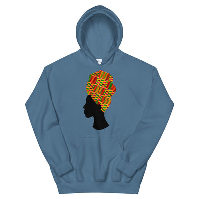 "Sweatshirt capuche ""Wrap Kente"""