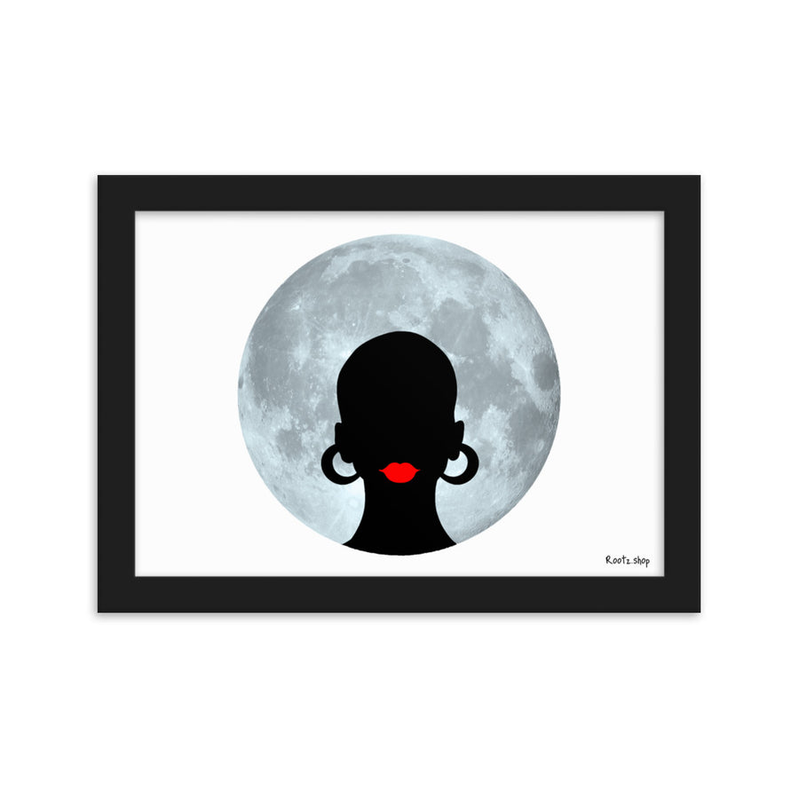 "Tableau ""Afro Moon"""