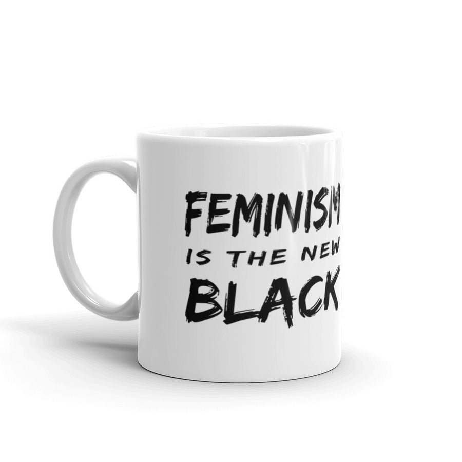 "Mug ""Feminism Is The New Black"" - Rootz shop"