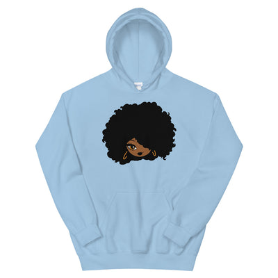 "Sweatshirt capuche ""Afro girl cartoon"""