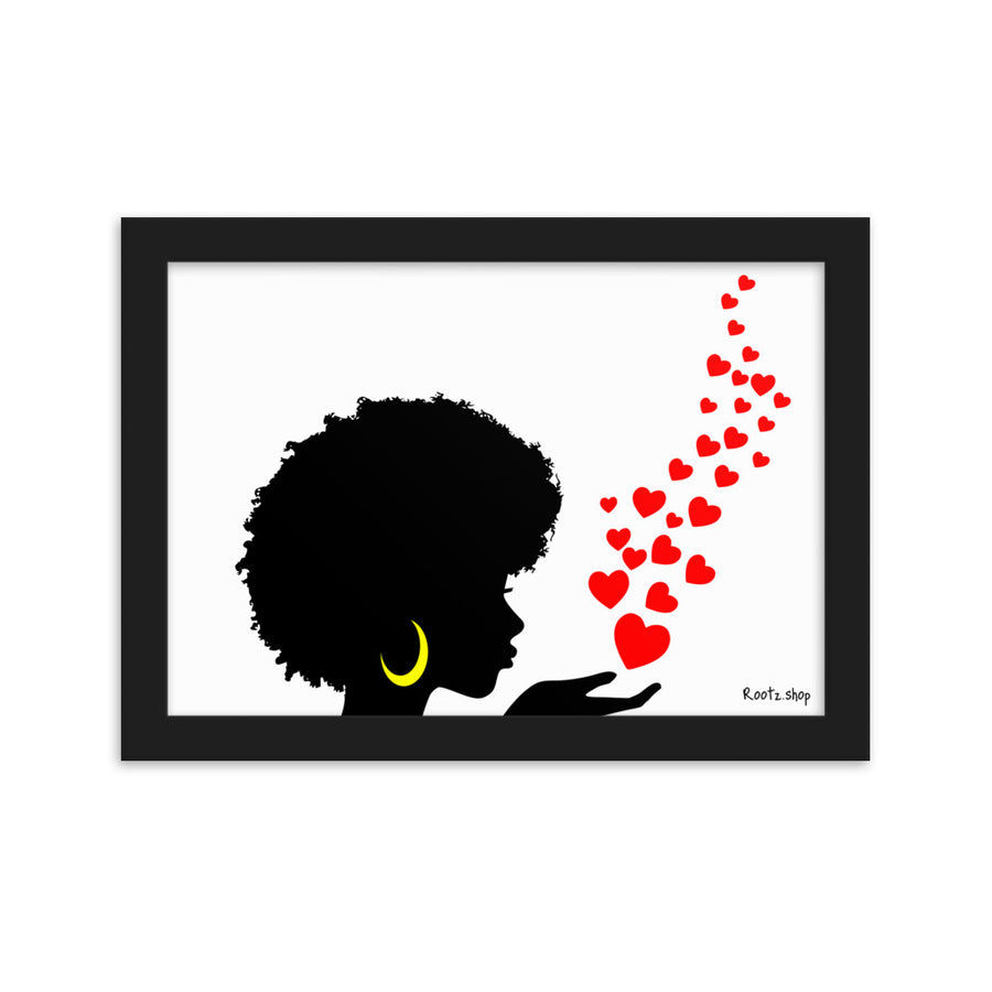 "Tableau ""Afro Girl Love"""